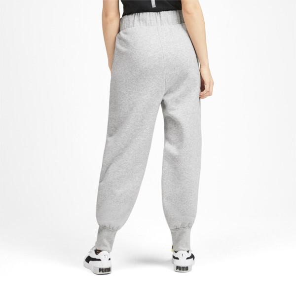 Pantalones deportivos SG x PUMA, Light Gray Heather, grande