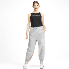 Thumbnail 3 of PUMA x SELENA GOMEZ Women's Sweatpants, Light Gray Heather, medium