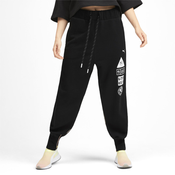 PUMA x SELENA GOMEZ Women's Sweatpants, Puma Black, large