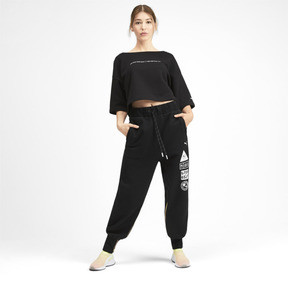 Thumbnail 3 of PUMA x SELENA GOMEZ Women's Sweatpants, Puma Black, medium