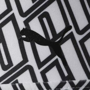 Thumbnail 3 of ボールド グラフィック ウィメンズ フルタイツ, Puma White-Puma Black, medium-JPN