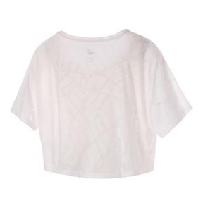 Thumbnail 2 of ショーオフ ウィメンズ SS Tシャツ 半袖, puma white, medium-JPN