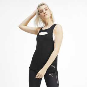Miniatura 1 de Camisetas sin mangas SHIFT para mujer, Puma Black, mediano