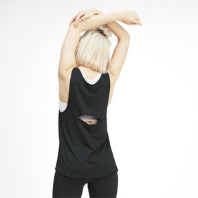 Miniatura 2 de Camisetas sin mangas SHIFT para mujer, Puma Black, mediano