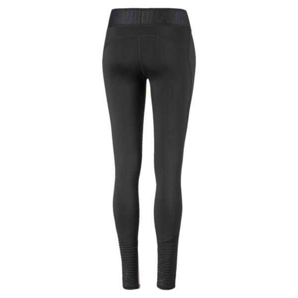 Leggings SHIFT para mujer, Puma Black-Bridal Rose, grande