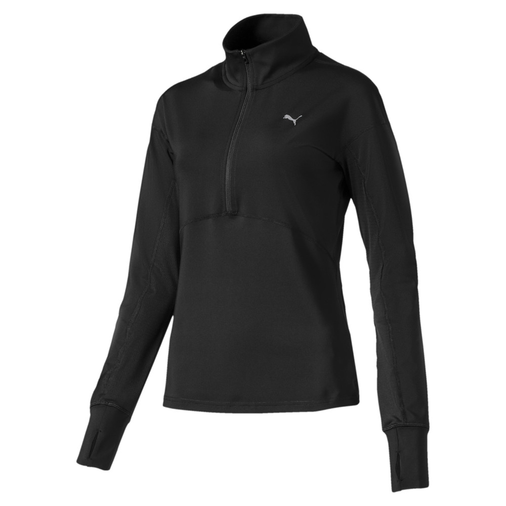 Image Puma Ignite Long Sleeve Women's Running Pullover #1