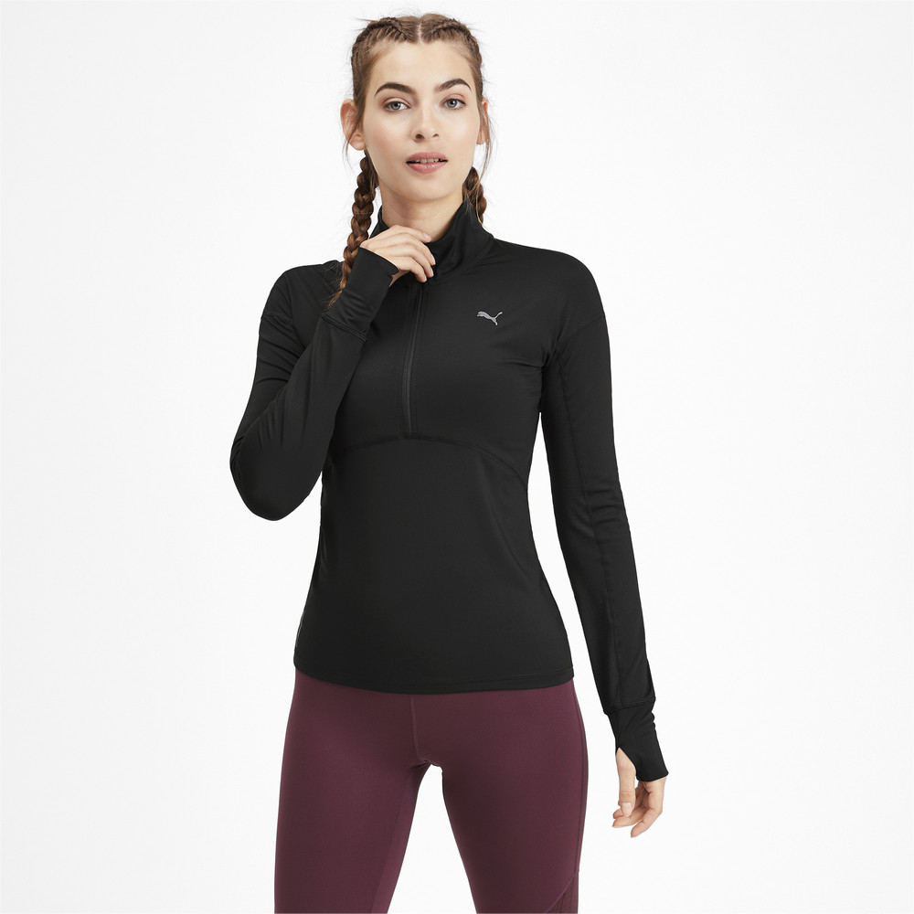 Image Puma Ignite Long Sleeve Women's Running Pullover #2