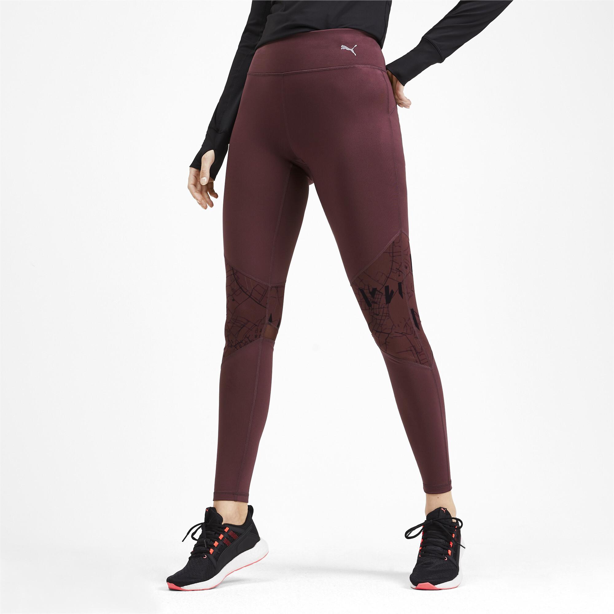 PUMA-Graphic-Women-039-s-Leggings-Girls-Running thumbnail 9