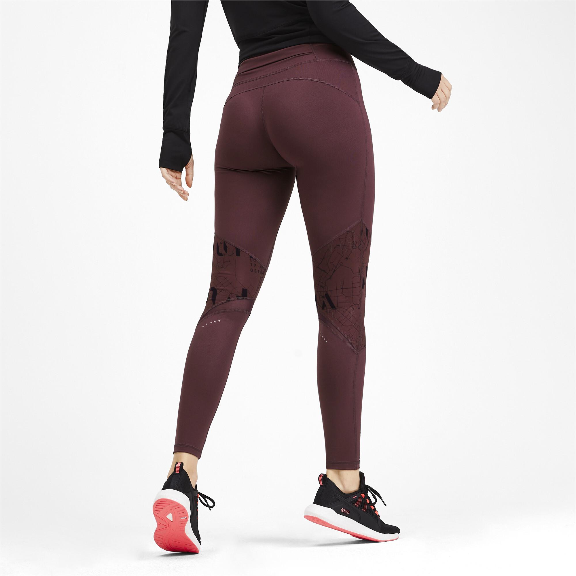 PUMA-Graphic-Women-039-s-Leggings-Girls-Running thumbnail 10