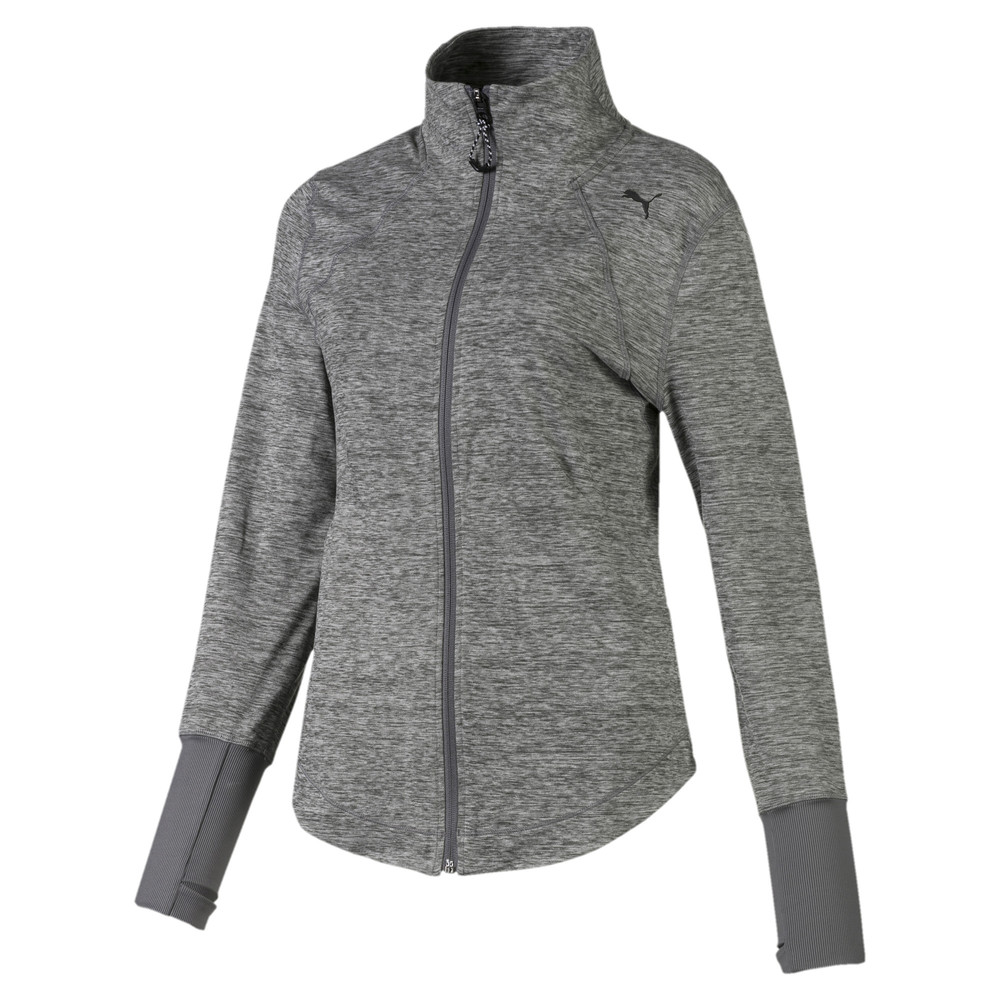 Image PUMA Studio Knit Women's Training Jacket #1