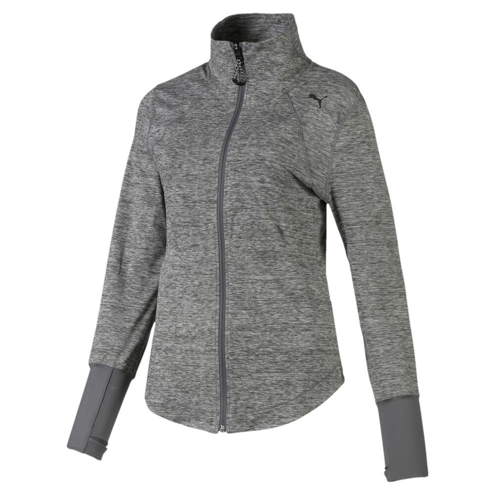 Image Puma Studio Knit Women's Training Jacket #1
