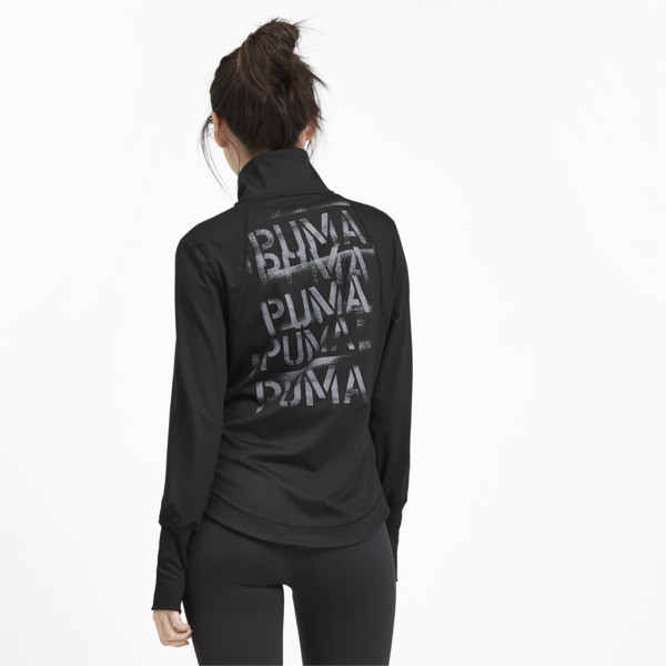 Studio Knit Women's Training Jacket, Puma Black, large