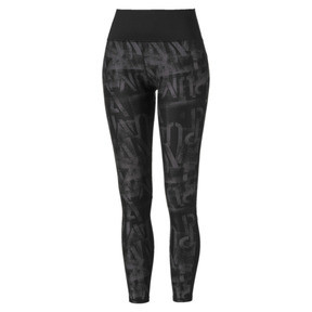 Thumbnail 4 of Studio 7/8 Graphic Women's Tights, Puma Black, medium