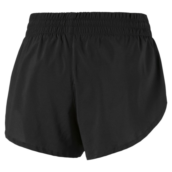 "3"" Graphic Women's Shorts, Puma Black-Reflective Print, large"