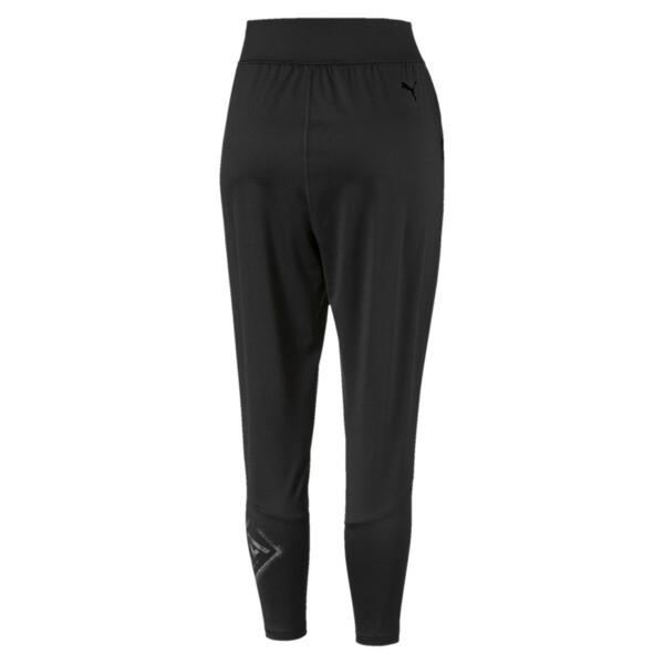 Pantalon en sweat Studio en maille 7/8 pour femme, Puma Black, large