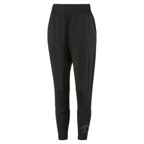 Thumbnail 4 of Studio Damen Gestrickte 7/8 Sweatpants, Puma Black, medium