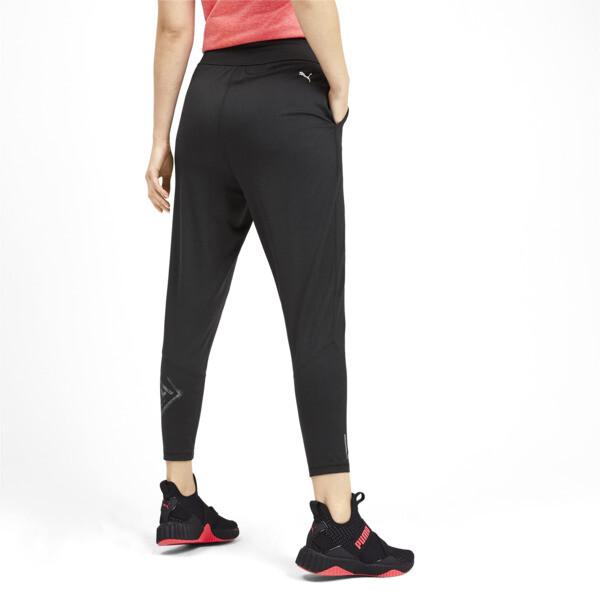 Studio Damen Gestrickte 7/8 Sweatpants, Puma Black, large