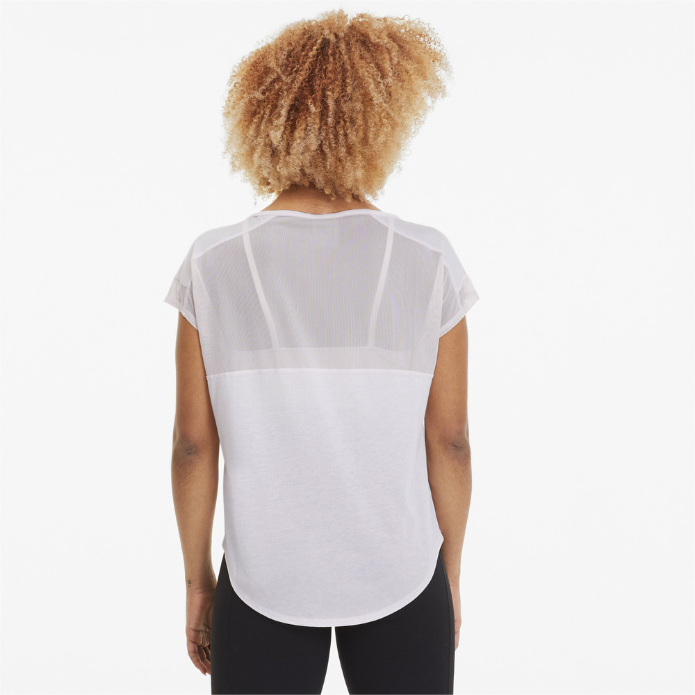 Image PUMA Studio Mesh Cat Women's Training Tee #2