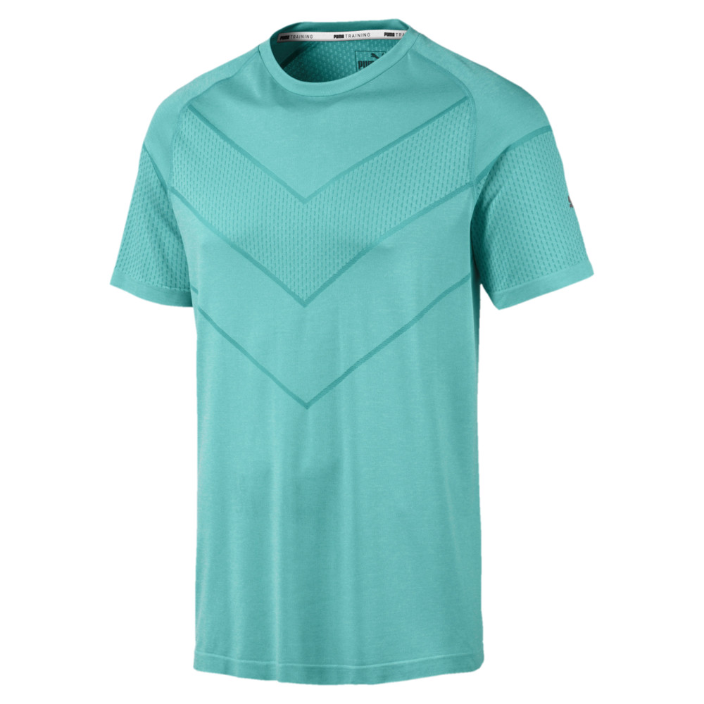 Image PUMA Reactive evoKNIT Short Sleeves Men's Tee #1