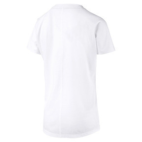 Anteprima 5 di PUMA Cat Short Sleeve Women's Training Tee, Puma White-CAT Q3, medio
