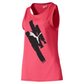 Miniatura 1 de Camiseta sin mangas Be Bold con estampa para mujer, Pink Alert, mediano