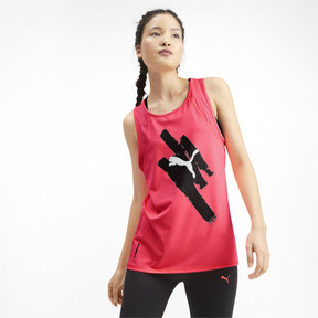 Miniatura 2 de Camiseta sin mangas Be Bold con estampa para mujer, Pink Alert, mediano