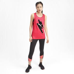 Miniatura 4 de Camiseta sin mangas Be Bold con estampa para mujer, Pink Alert, mediano