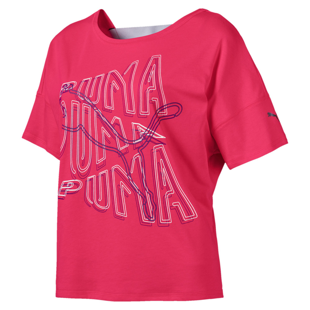 Image PUMA HIT Feel It Women's Training Tee #1