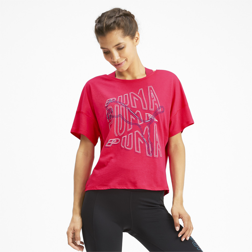 Image PUMA HIT Feel It Women's Training Tee #2