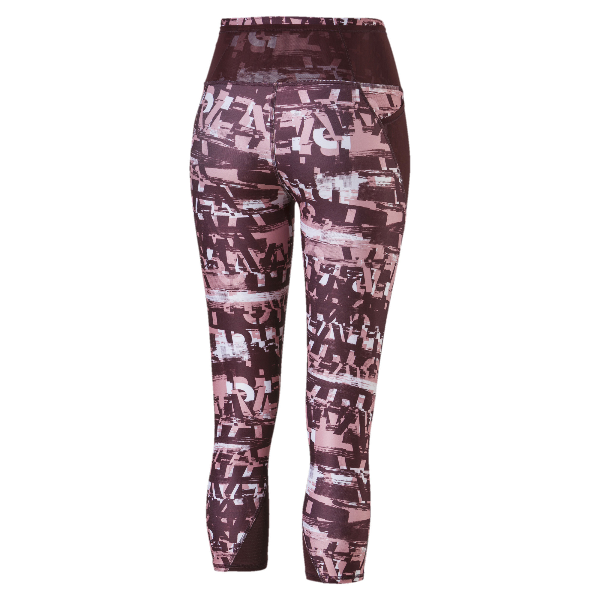 PUMA-Be-Bold-AOP-Women-039-s-3-4-Leggings-Girls-Training thumbnail 8