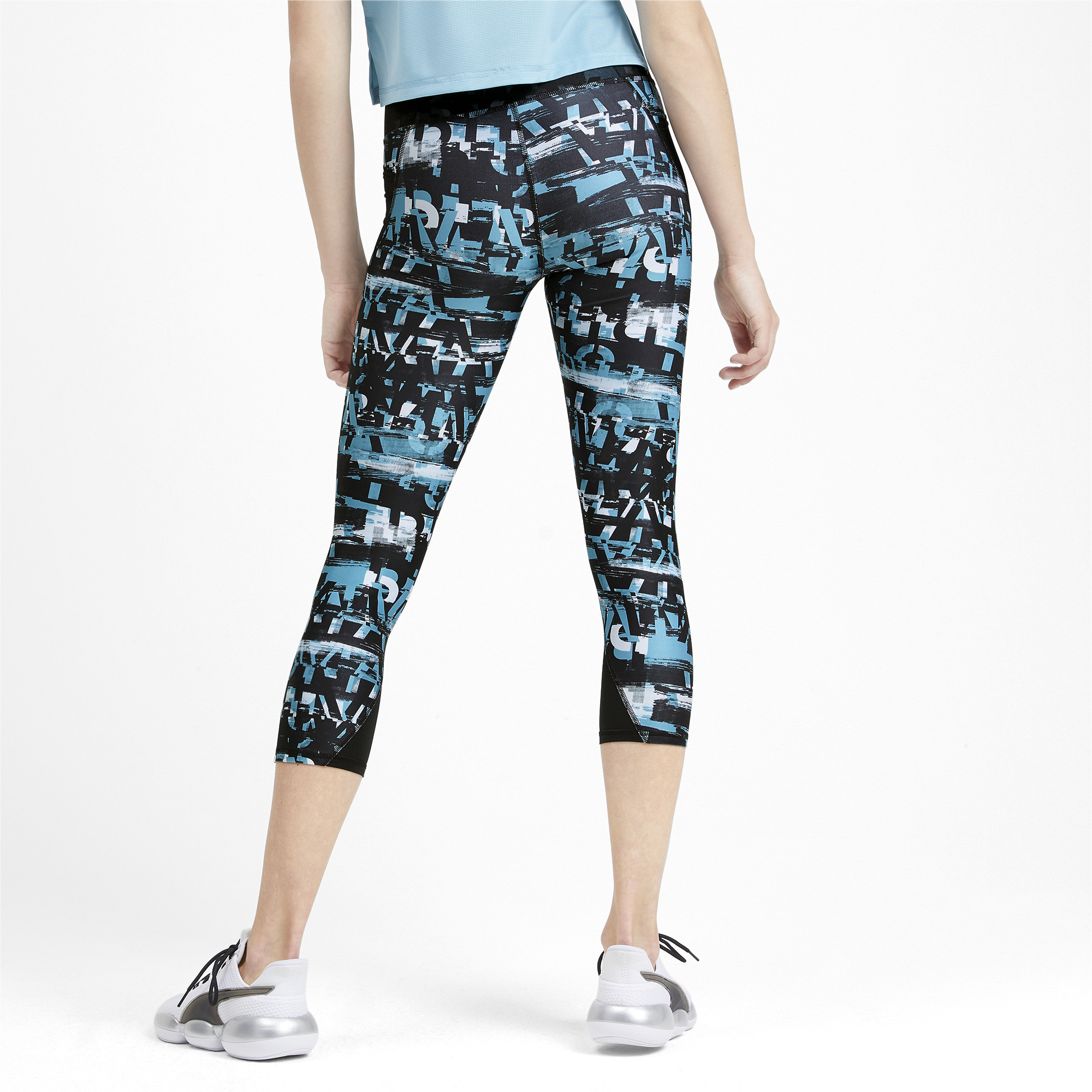 PUMA-Be-Bold-AOP-Women-039-s-3-4-Leggings-Girls-Training thumbnail 15