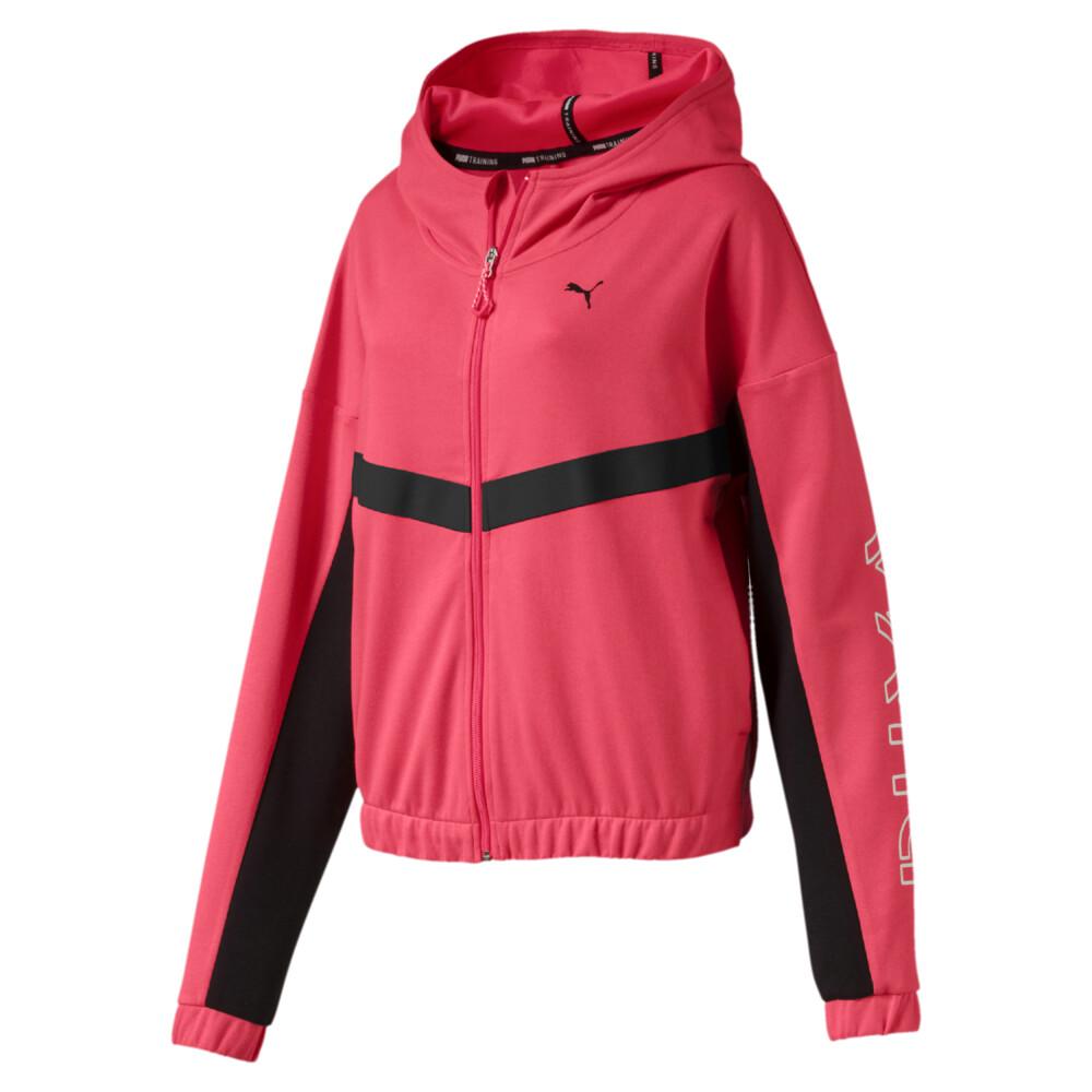 Image Puma HIT Feel It Knitted Women's Training Sweat Jacket #1