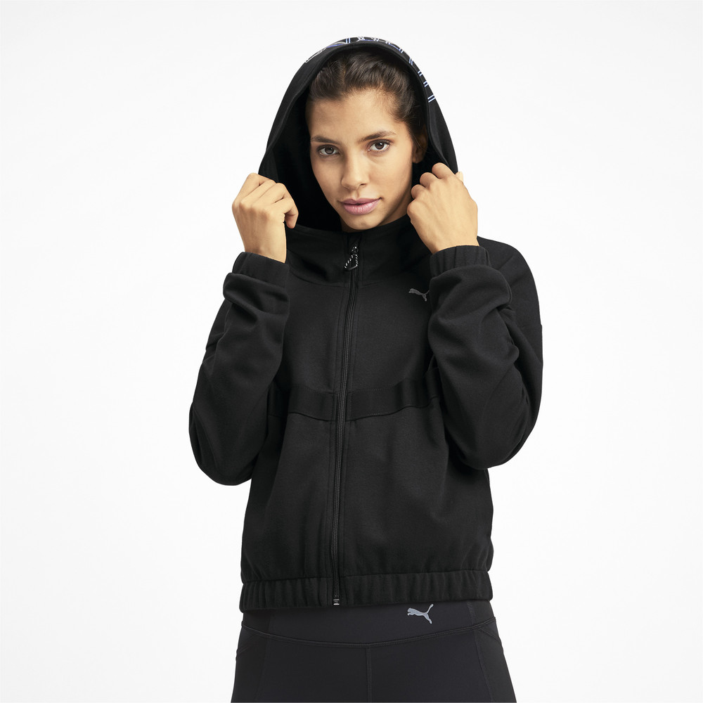 Image PUMA HIT Feel It Knitted Women's Training Sweat Jacket #2