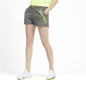 Miniatura 2 de Shorts HIT Feel It para mujer, Medium Gray Heather, mediano
