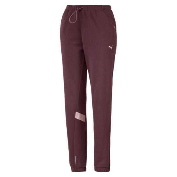 Pantalones deportivos HIT Feel It para mujer, Vineyard Wine Heather, grande