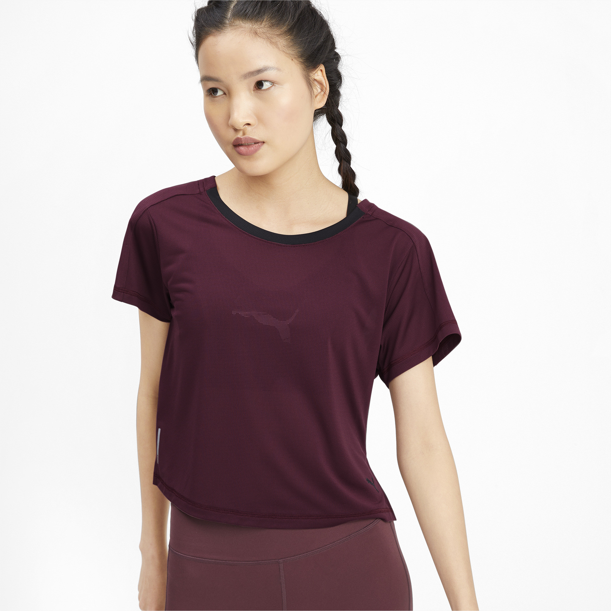 PUMA-Logo-Graphic-Women-039-s-Tee-Women-Tee-Training thumbnail 4