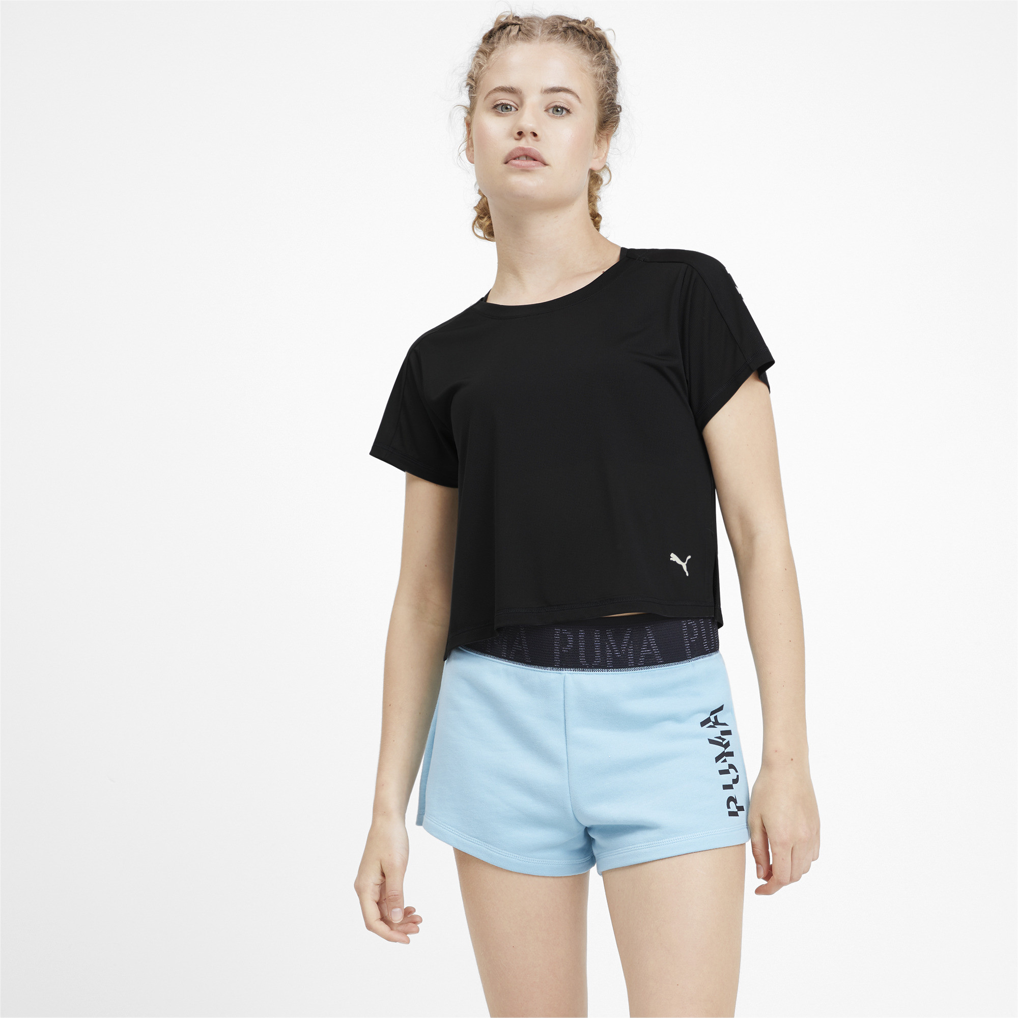 PUMA-Logo-Graphic-Women-039-s-Tee-Women-Tee-Training thumbnail 9