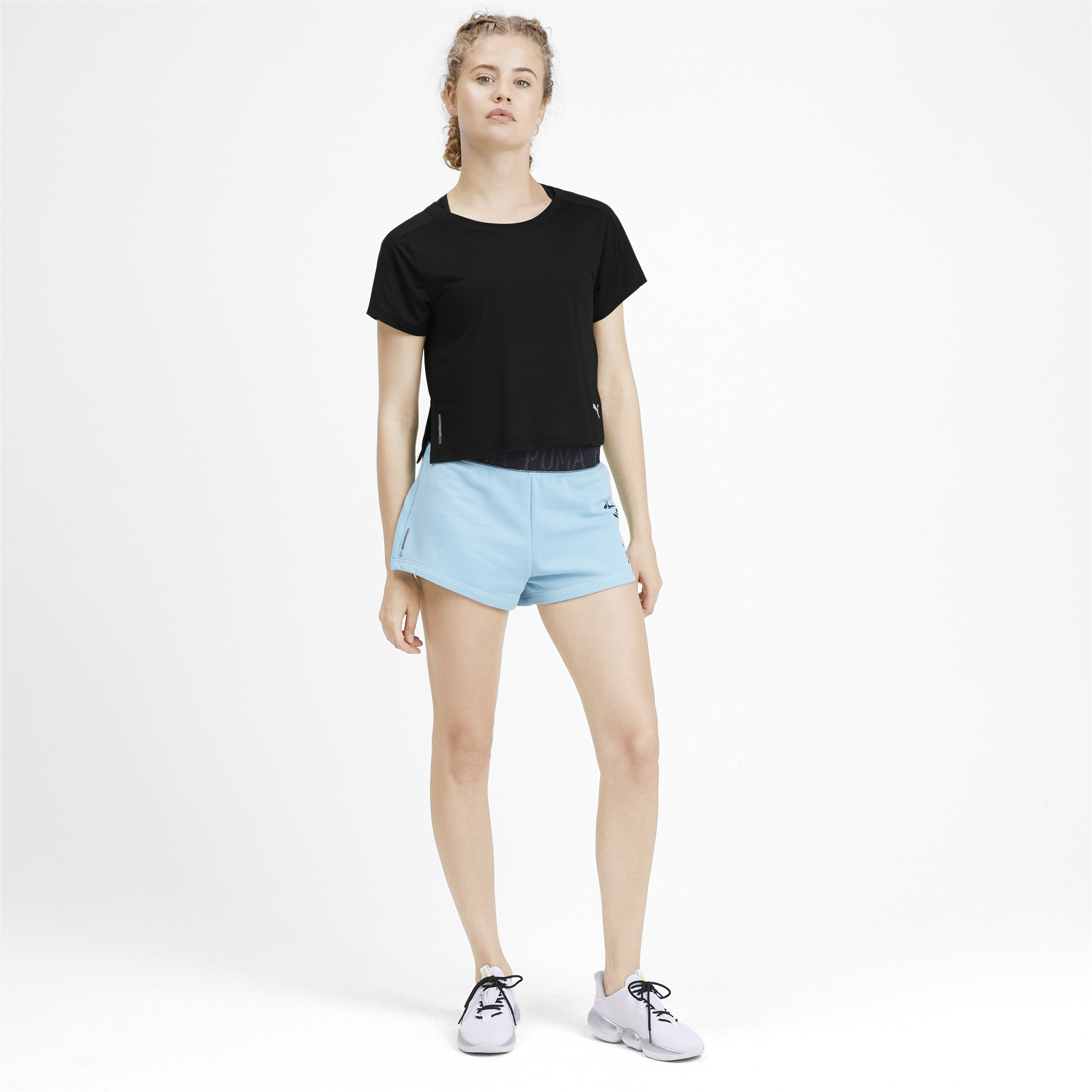 PUMA-Logo-Graphic-Women-039-s-Tee-Women-Tee-Training thumbnail 11