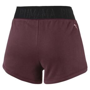 Miniatura 5 de Shorts con logo para mujer, Vineyard Wine Heather, mediano
