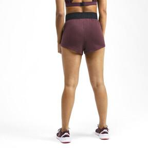 Miniatura 3 de Shorts con logo para mujer, Vineyard Wine Heather, mediano