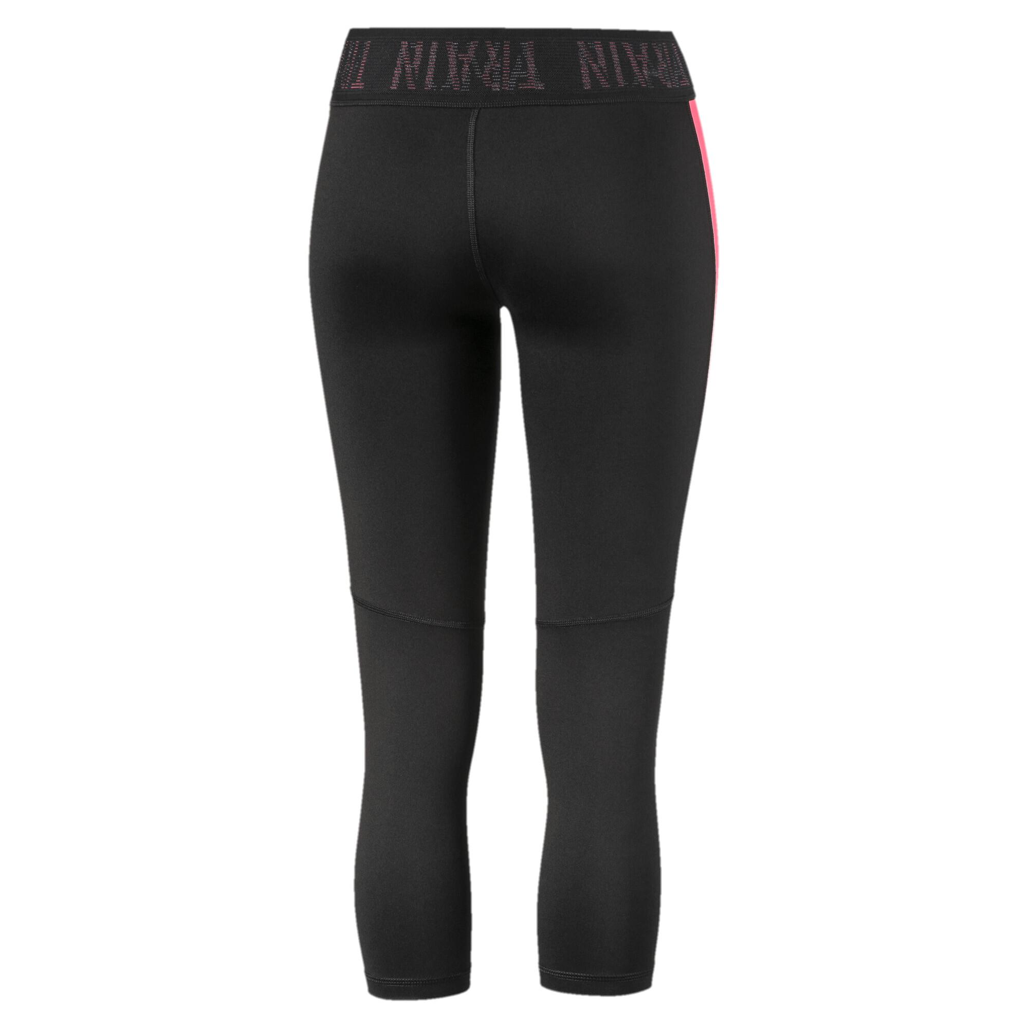 PUMA-Logo-Women-039-s-3-4-Leggings-Girls-Training thumbnail 3