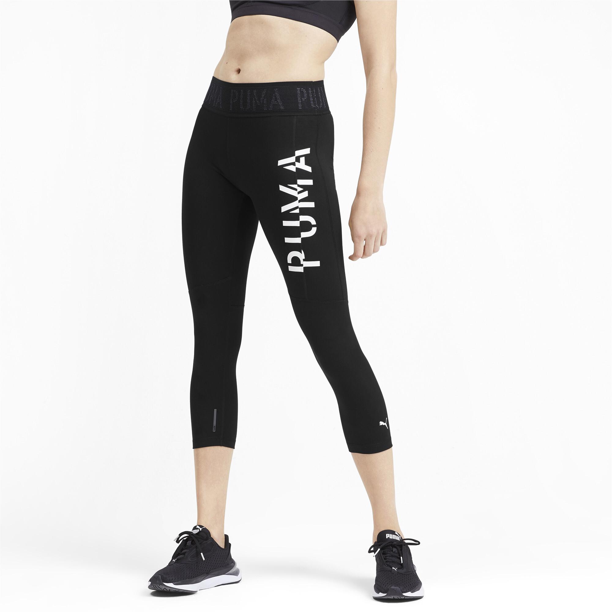 PUMA-Logo-Women-039-s-3-4-Leggings-Girls-Training thumbnail 9