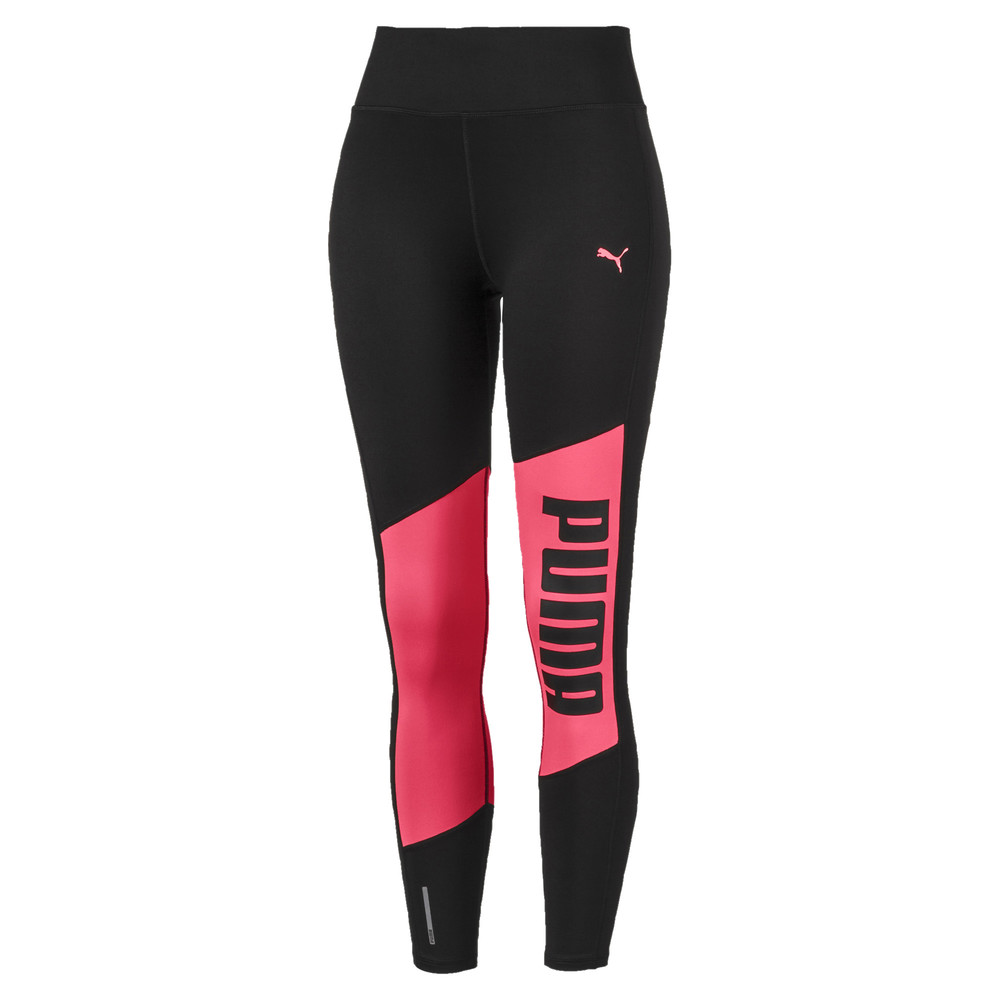 Image PUMA Logo 7/8 Graphic Women's Training Leggings #1
