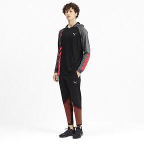 Miniatura 4 de Camiseta Collective con capucha y mangas largas para hombre, Black-CASTLEROCK Heather, mediano
