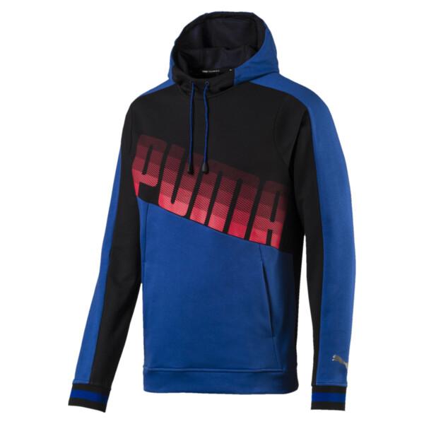 Sudadera con capucha Collective para hombre, Galaxy Blue-Puma Black, grande