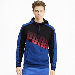 Miniatura 2 de Sudadera con capucha Collective para hombre, Galaxy Blue-Puma Black, mediano