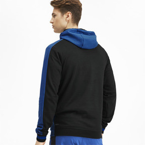 Miniatura 3 de Sudadera con capucha Collective para hombre, Galaxy Blue-Puma Black, mediano