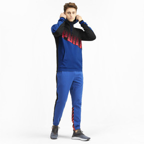 Miniatura 4 de Sudadera con capucha Collective para hombre, Galaxy Blue-Puma Black, mediano