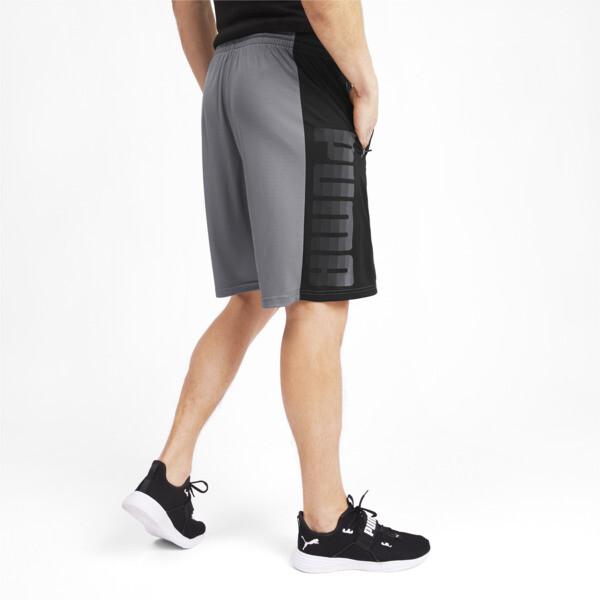 Collective Knitted trainingsshort voor mannen, CASTLEROCK-Puma Black, large