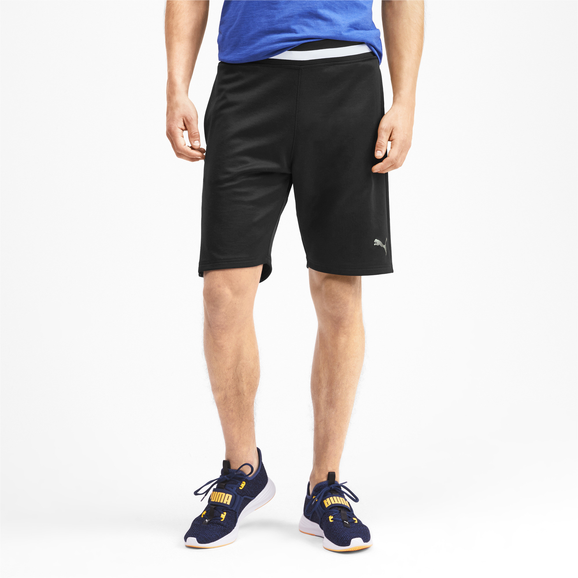 PUMA-Collective-Men-039-s-Sweat-Shorts-Men-Knitted-Shorts-Training thumbnail 4